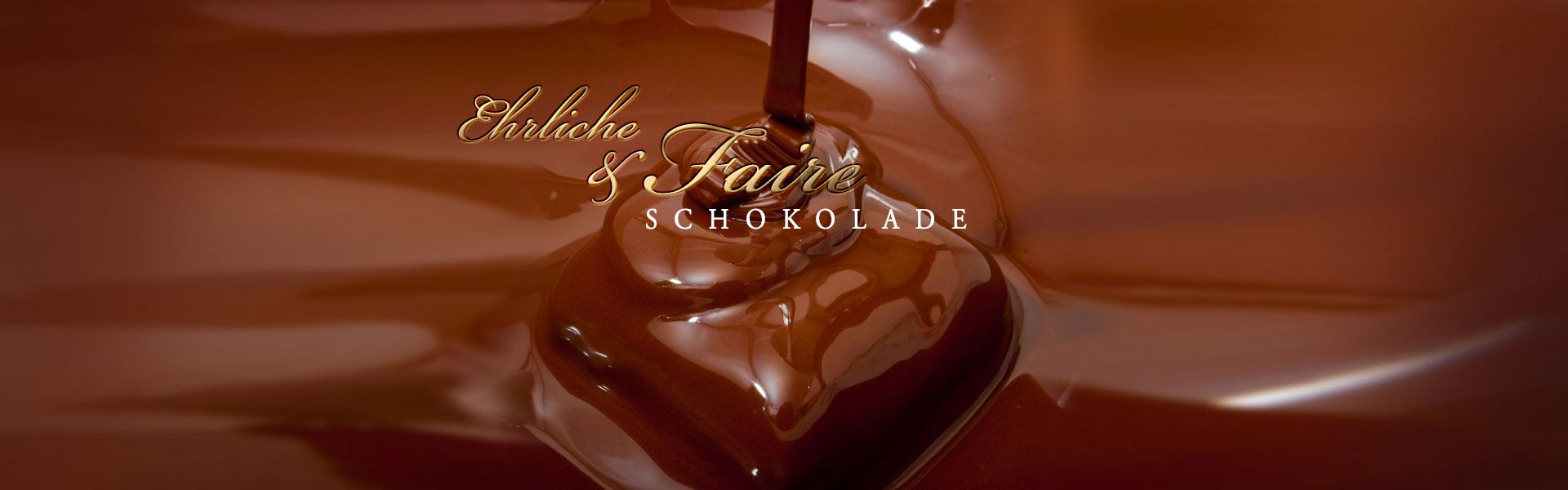 Fair hergestellte Confiserie Schokolade