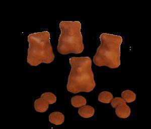 Fruchtbär in Vollmilch Schokolade