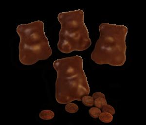 Fruchtbären in Zartbitter Schokolade