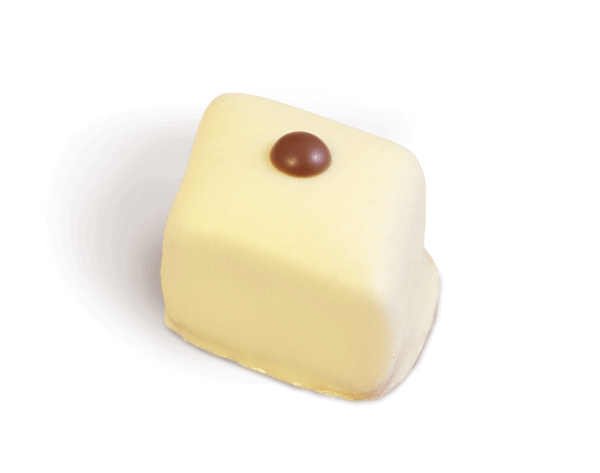 Weiße Kaffee Nougat Praline