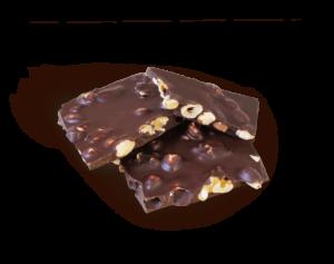 Haselnuss Mandel Walnuss Schokoladen Bruch