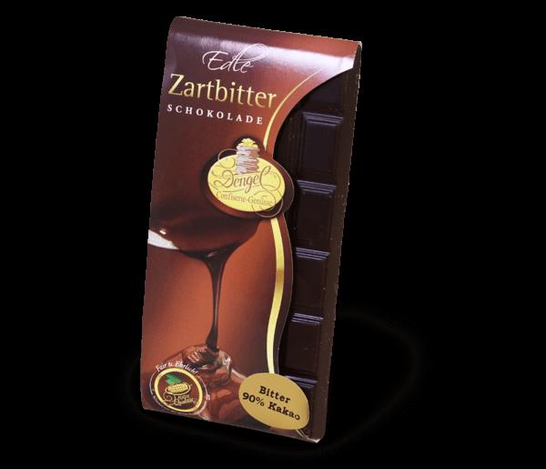 Zartbitter Schokoladentafel 90