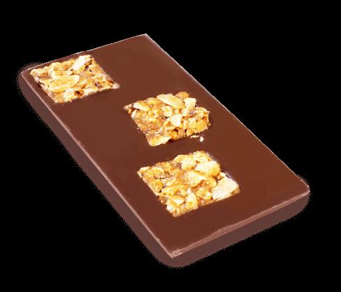 Schokoladentafel Florentiner