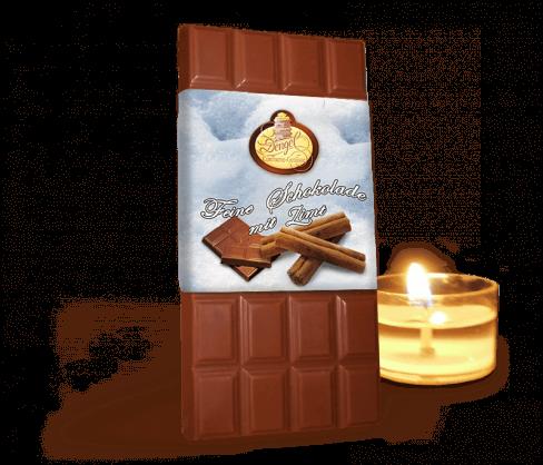 Zimt Weihnachts Schokolade