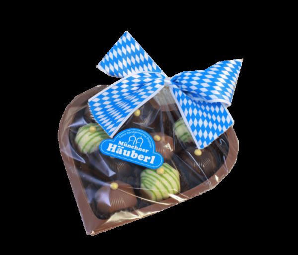 Pralinen Herz Münchner Häuberl